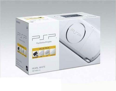 PSP3000珠光白/8G套装