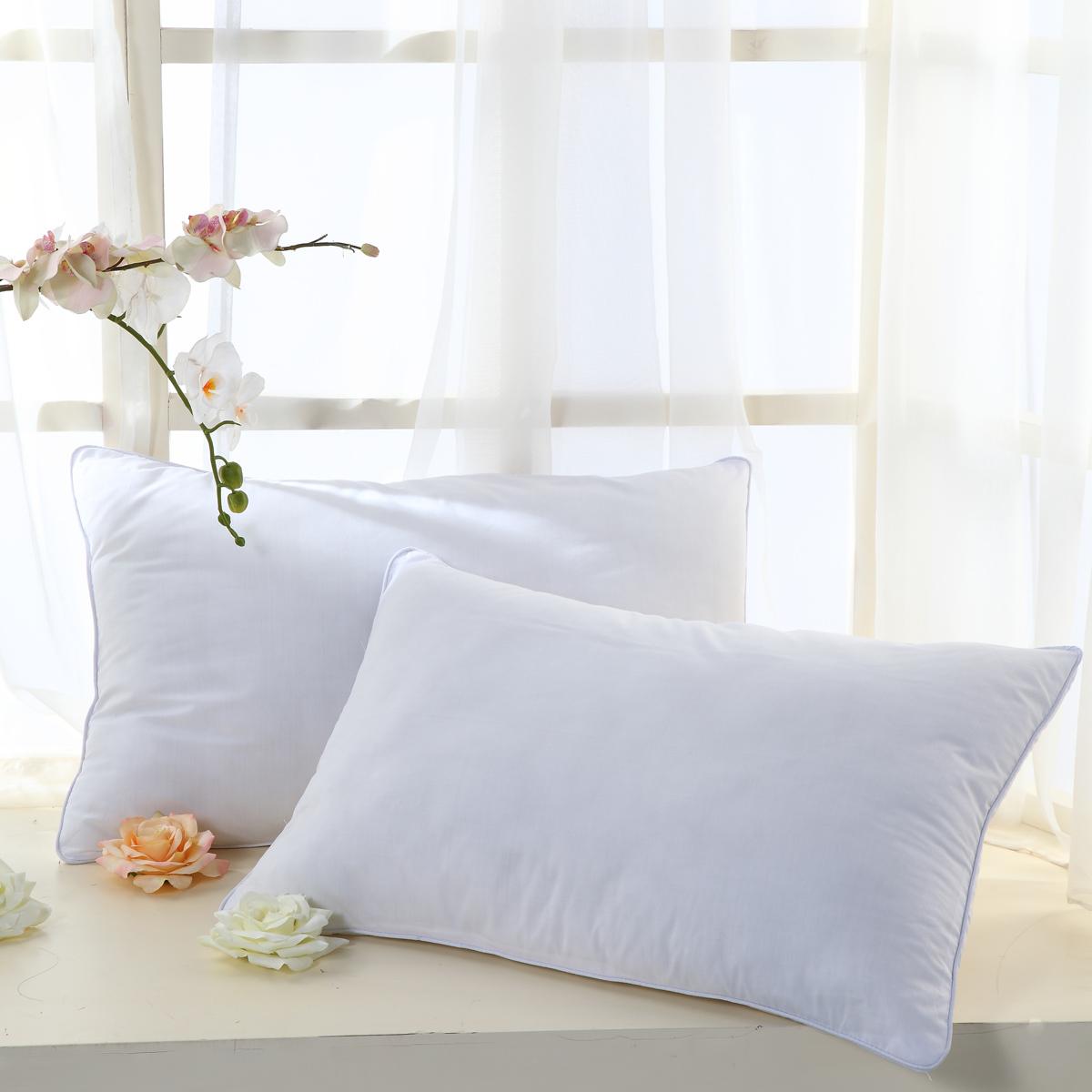 包邮正品水星家纺超柔枕枕芯枕心枕头床上用品成人单人涤棉纤维