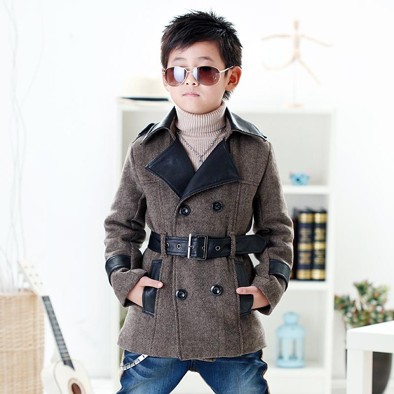 Пальто детское Ebcastle e12wd01 2102 Для молодых мужчин Зима Смешанная ткань Оригинальная