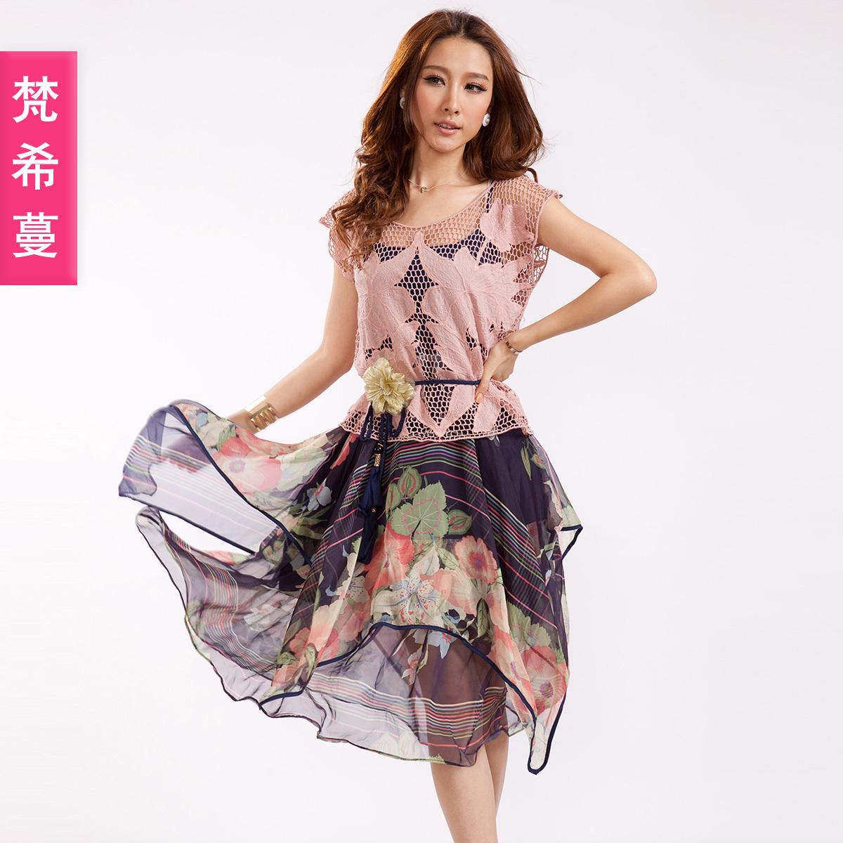 Женское платье Vimly 87620 2012 Лето 2012 Шифон