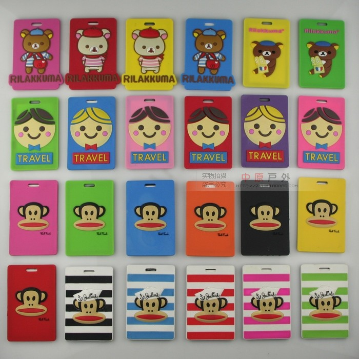 Central Plains outdoor travel goods luggage tags checked tag export Korea Japan wholesale-cum 2