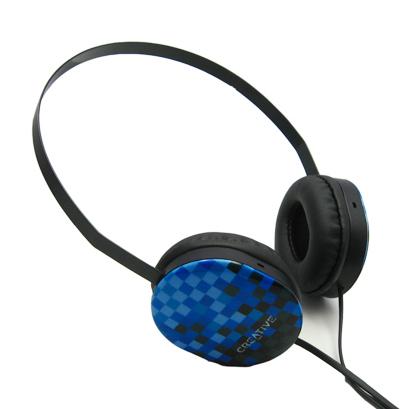 创新Creative限量头戴耳机HQ-1450 马赛克图案 原装正品