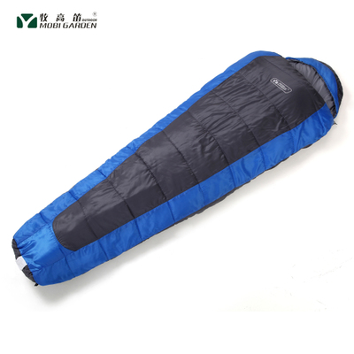Mobi genuine thick warm winter adult lengthened Qing Shu 350 hollow cotton sleeping bags outdoor camping sleeping bag