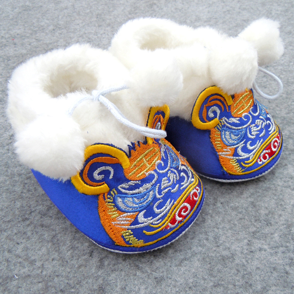 детская обувь Old Beijing cloth shoes 1
