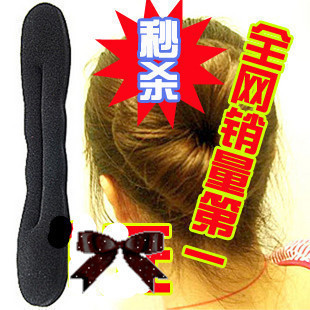 Korean women hair jewelry sponge meatballs spathe tiara hair accessories made by  first bar 20G