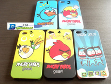 Full Set 5 Angry Birds Anger  Bird iPhone 4  Cover  iphone Otterbox