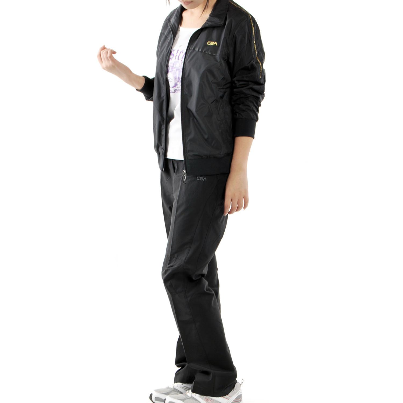 Спортивный костюм CBA 6771103/002/6131111/002 478 Женские Длинные рукава (рукава ≧ 58см) Отложной воротник Брюки ( длинные ) Для спорта и отдыха Логотип бренда