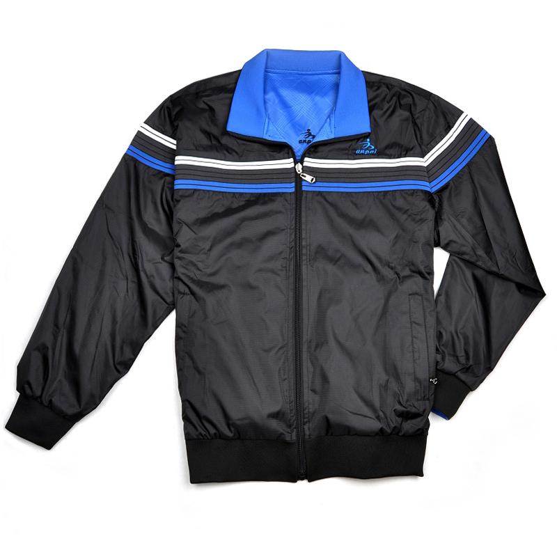 Спортивная куртка Ann sent a628a Для мужчин Отложной воротник Молния Для спорта и отдыха Логотип бренда Водонепроницаемая, дышащая, Быстросохнущие, Удерживающая тепло, Ультралегкие, Воздухопроницаемые, Против ветра