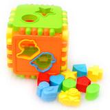 多孔形状认知积木 可拆装