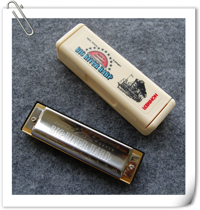 губная гармонь Hohner  Big River 10