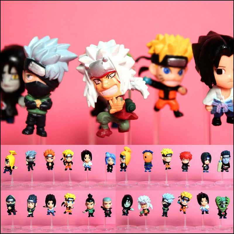 Roogo Fashion Cartoon PVC No Video Naruto Modell