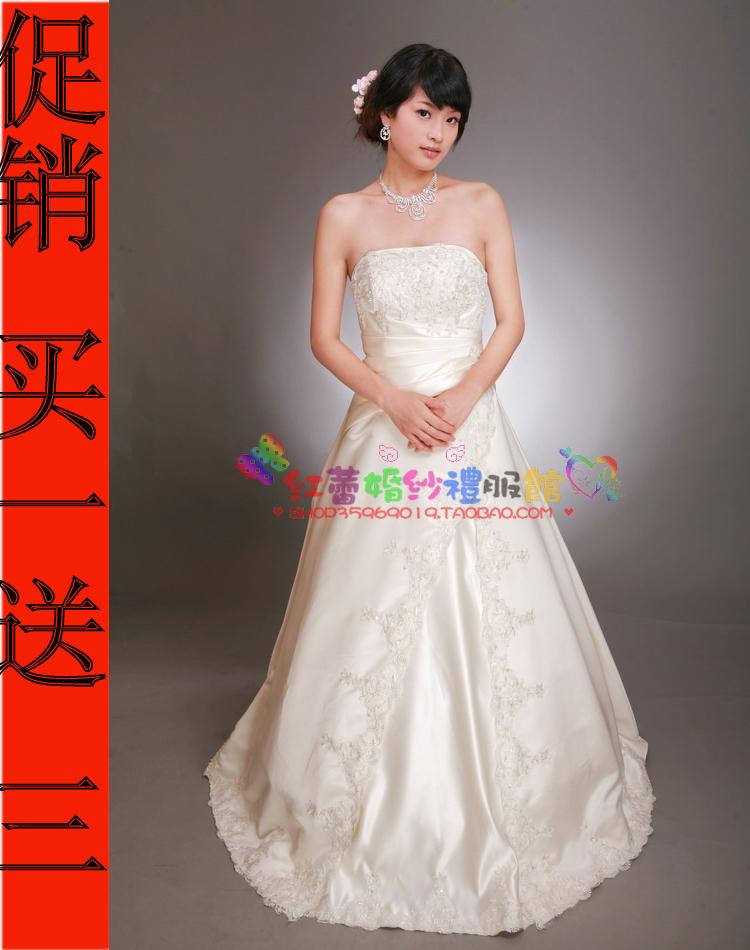 Свадебное платье 2011 2012 Атлас, сатин Юбка-пачка Гламурный стиль