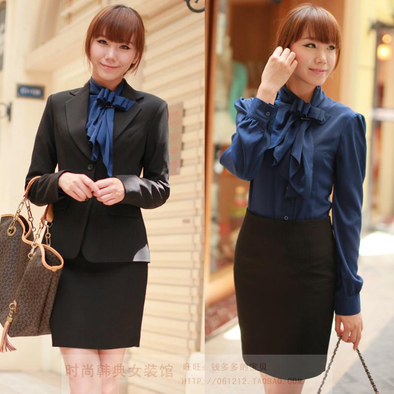 Офисный костюм w68828 + + c83560 q6125 2012 Длинный рукав Европейская юбка