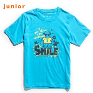 Summer of 2012 new Giordano t-shirts girls calf Hi t-shirt 03092001