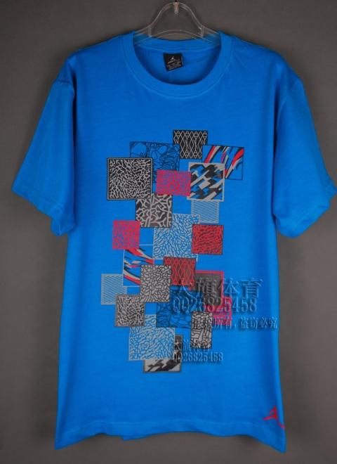 Спортивная футболка OTHER 11524 Nba Jordan 2011 Воротник-стойка 100 хлопок Спорт и отдых Влагопоглощающая функция % С логотипом бренда