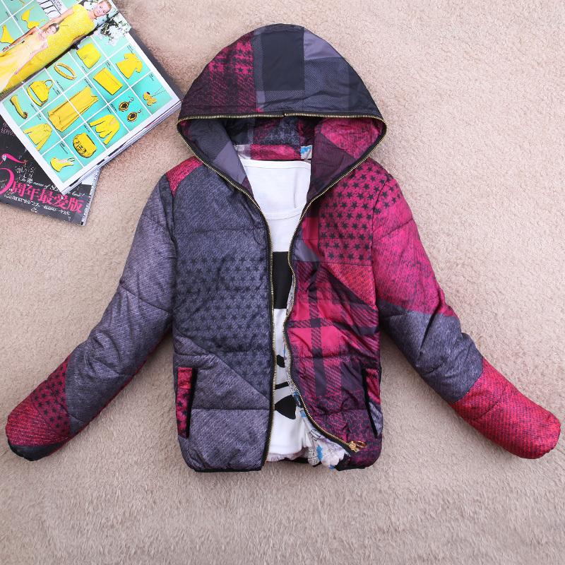Женская утепленная куртка Lin Yusen A8 2012 Облегающий покрой Длинный рукав Осень 2012