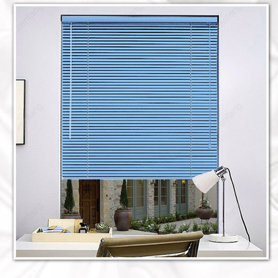House venetian blinds 2.5cm blade solid aluminum block ultraviolet custom curtains blinds finished