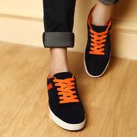 2014春夏新款男士板鞋韩版休闲滑板鞋潮流运动鞋 时尚经典布鞋
