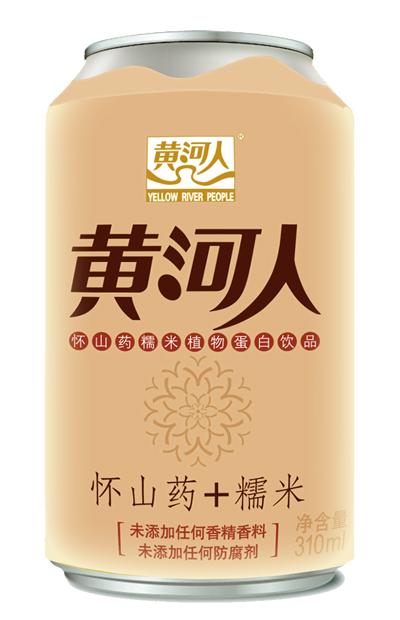 黄河人 怀山药专家 怀山药糯米310ml易拉罐整箱15罐 非普通饮料