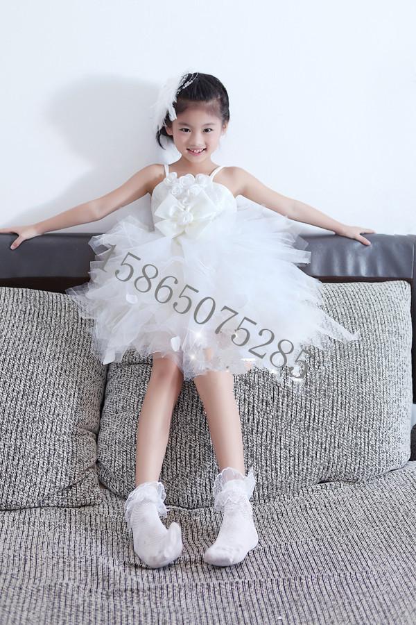 Детская одежда для танцев Pettiskirt платье девочек платья детей детей Принцесса Свадебные Платья Юбки выполняют танцевальные костюмы Девушки