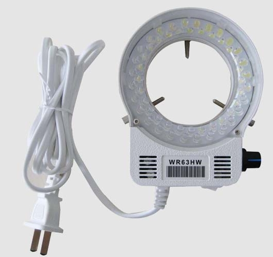 Aislan AV100-240V 4.5W 3500LUX Transparent Lampshade LED Ring Light