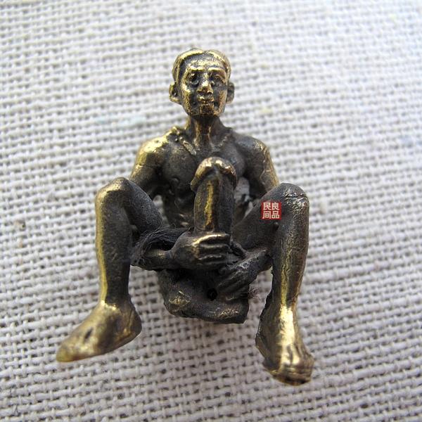 阳具乱�_巴拉吉泰国阳具圣物 百叻吉 泰国特色工艺黄铜钥匙扣