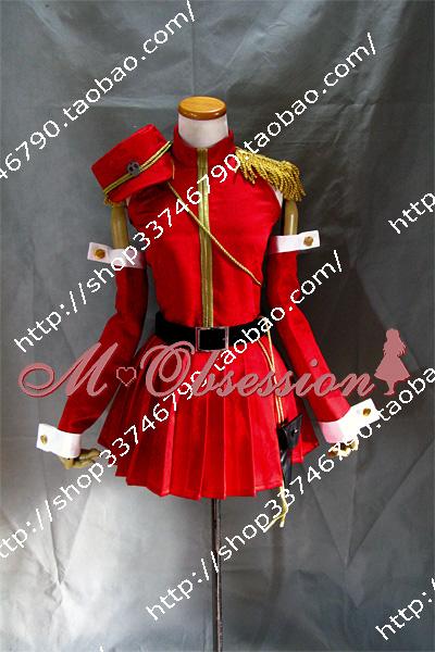 Женский костюм для косплея Puzzle Crazy  VOCALOID2 RIN Cosplay