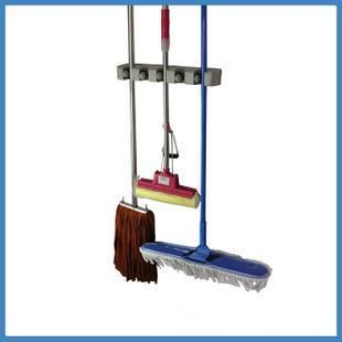 Multi-purpose MOP broom MOP hanging on racks five broom hook specials