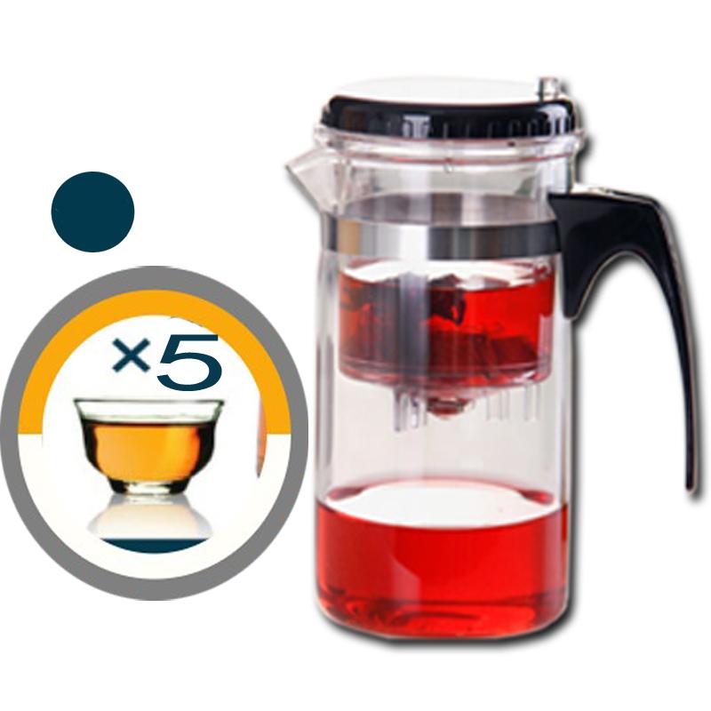 Заварочный чайник с фильтром piaoiteapot 500-650 мл