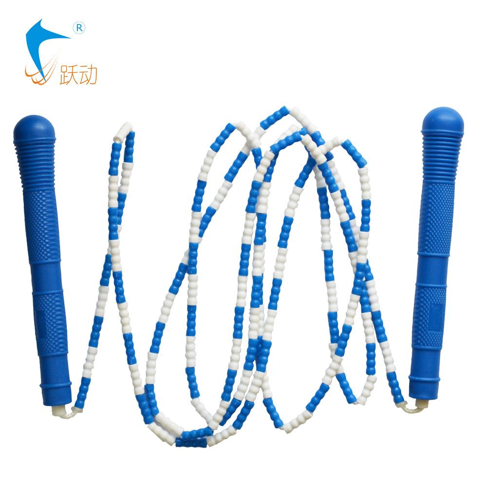 龙花跳绳专业正品 701d花样竹节跳绳 学生珠节跳绳 健身减肥跳绳图片