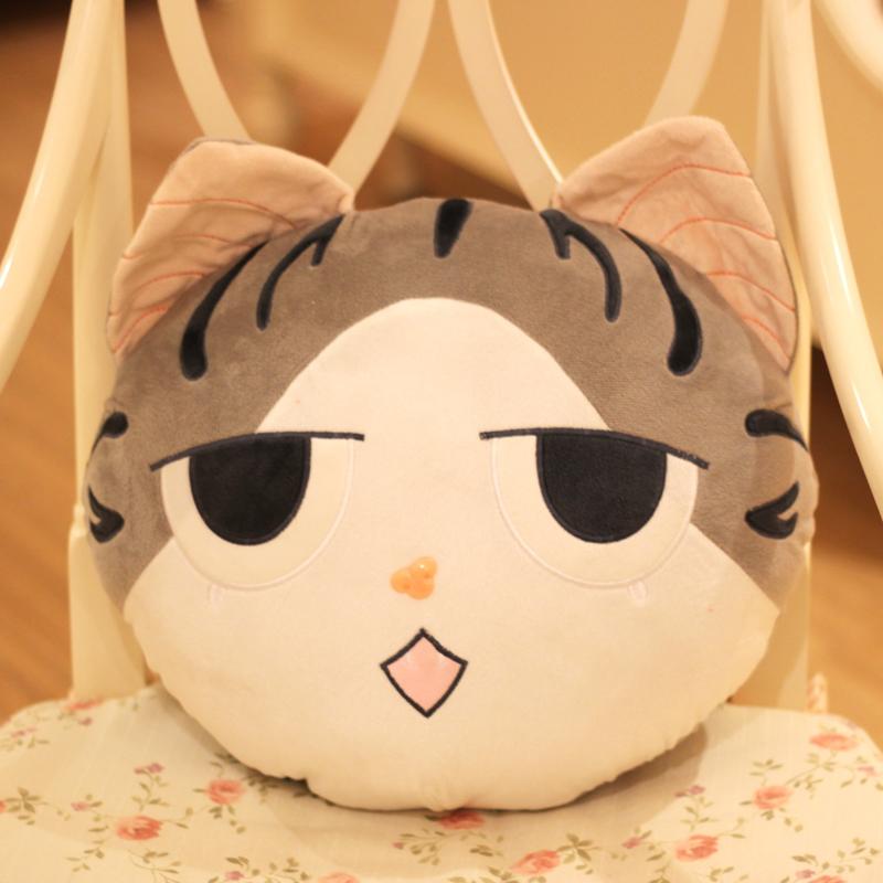 保蒂卡毛绒玩具起司猫靠垫小奇甜甜私房猫猫咪公仔满记积木v靠垫的那个甜品图片
