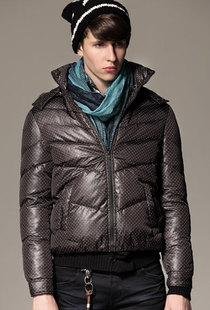 ING2ING new winter coat hallyu fashion wave point man down 080411402