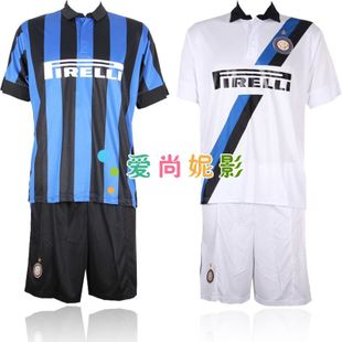 New Inter Milan Football Clothing sets  main child short sleeve football team football clothing competition clothing set