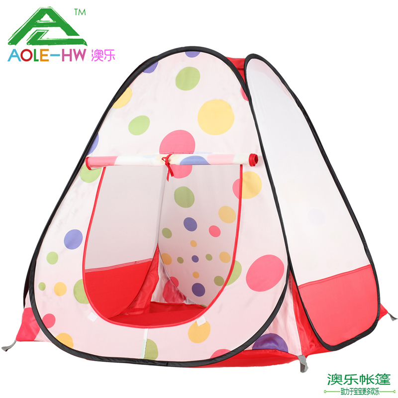 O International Children ' s Day gift authentic baby tent for children toy games housing marine ball 0-1-aged