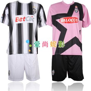 Juventus football clothes set Zebra army football sports short sleeve men's football for children clothes