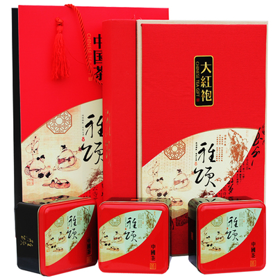 Jin Yufang gift tea tea Oolong tea fujian wuyi mountain Dahongpao gift gift boxes of high-grade tea