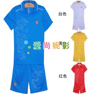 New Chinese style men's volleyball volleyball clothing men clothing suit competition suit training suits have children