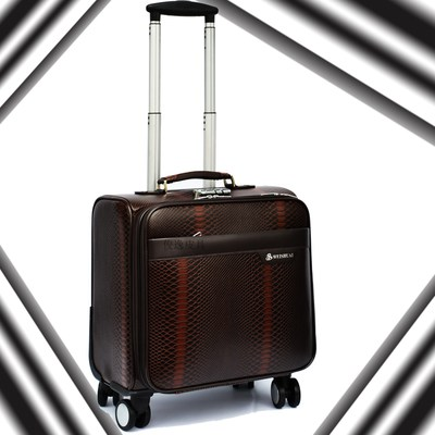 South Korean business sub-18-inch board chassis suitcase 16 inch trolley case suitcase small suitcase caster small male female