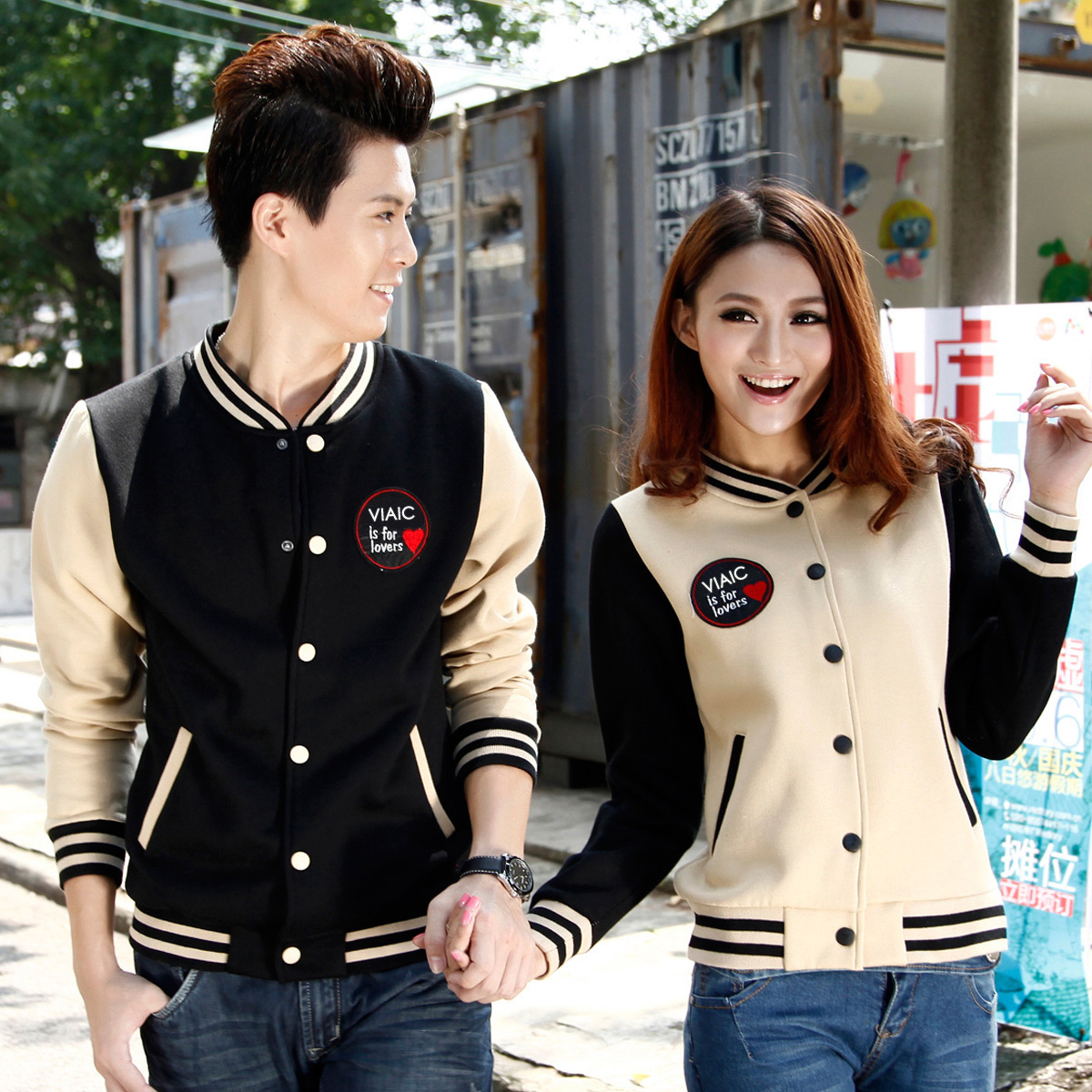 Korean Cardigan baseball sweater for men and women