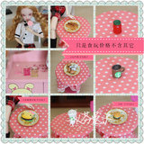 6 points Barbie doll can be child doll momoko peach Jennifer Rieger Ritz- doll props available Siwan