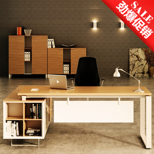 Simple fashion boss 1.8 meter modern Executive Office furniture computer desk and Chair of Shanghai special