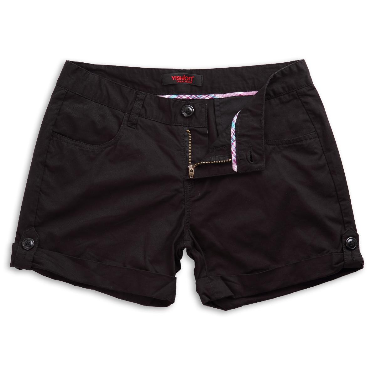 Женские брюки Yishion 10220537 89 Шорты, мини-шорты Прямые