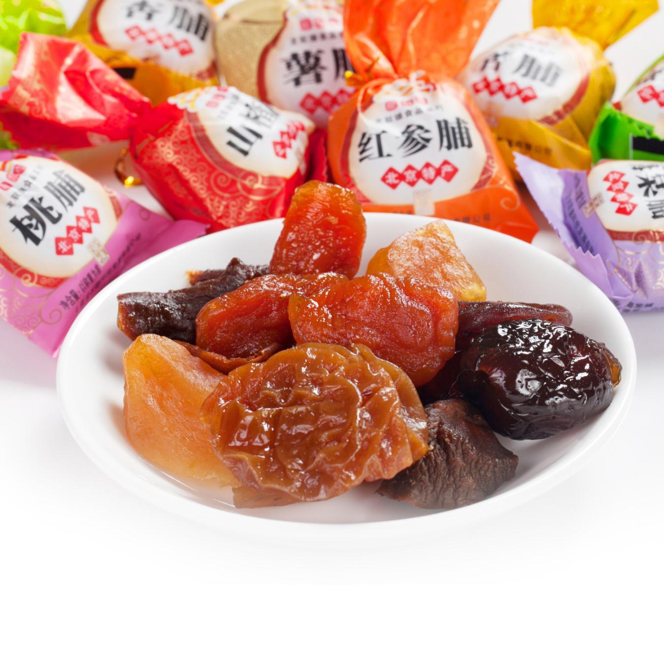 辅食/枣类/梅/蜜饯苹果干龙驭德食品店(大图)商品所在地:北京猪肝粥果干图片