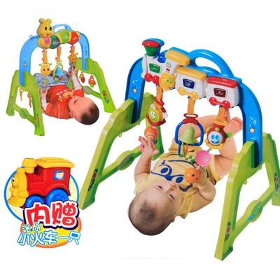 婴儿音乐健身架0-6个月-1岁宝宝健身器儿童早