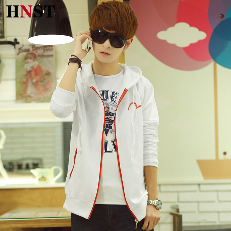 The new 2014 men's hooded fleece teenagers Taobao Agents