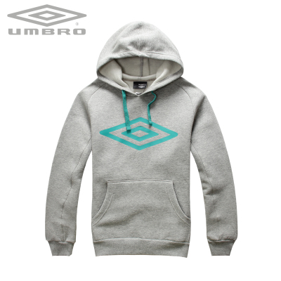 Umbro genuine sports sweater men's fall and winter clothes to keep warm fleece hooded sweater men U20419