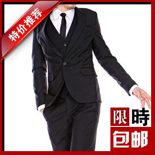 Деловой костюм A * m * n Однобортная на один ряд пуговиц Классический (воротник шириной 7- 9см)