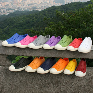 代购正品 Native Jefferson 夏天洞洞鞋 沙滩鞋凉拖鞋男女情侣鞋