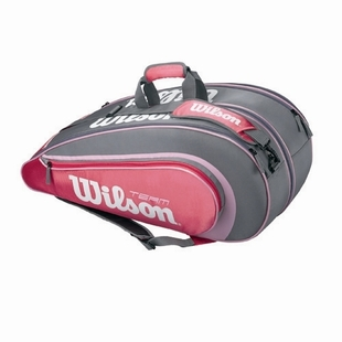 Wilson/nCode/Weir wins six pack tennis bag genuine new ash WRZ8269