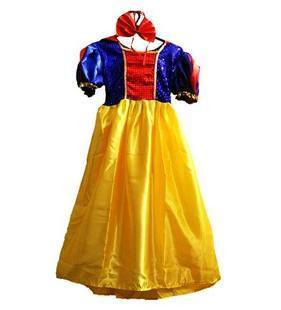 Halloween dress / super cute children's dance clothing Snow White princess dress skirt suit